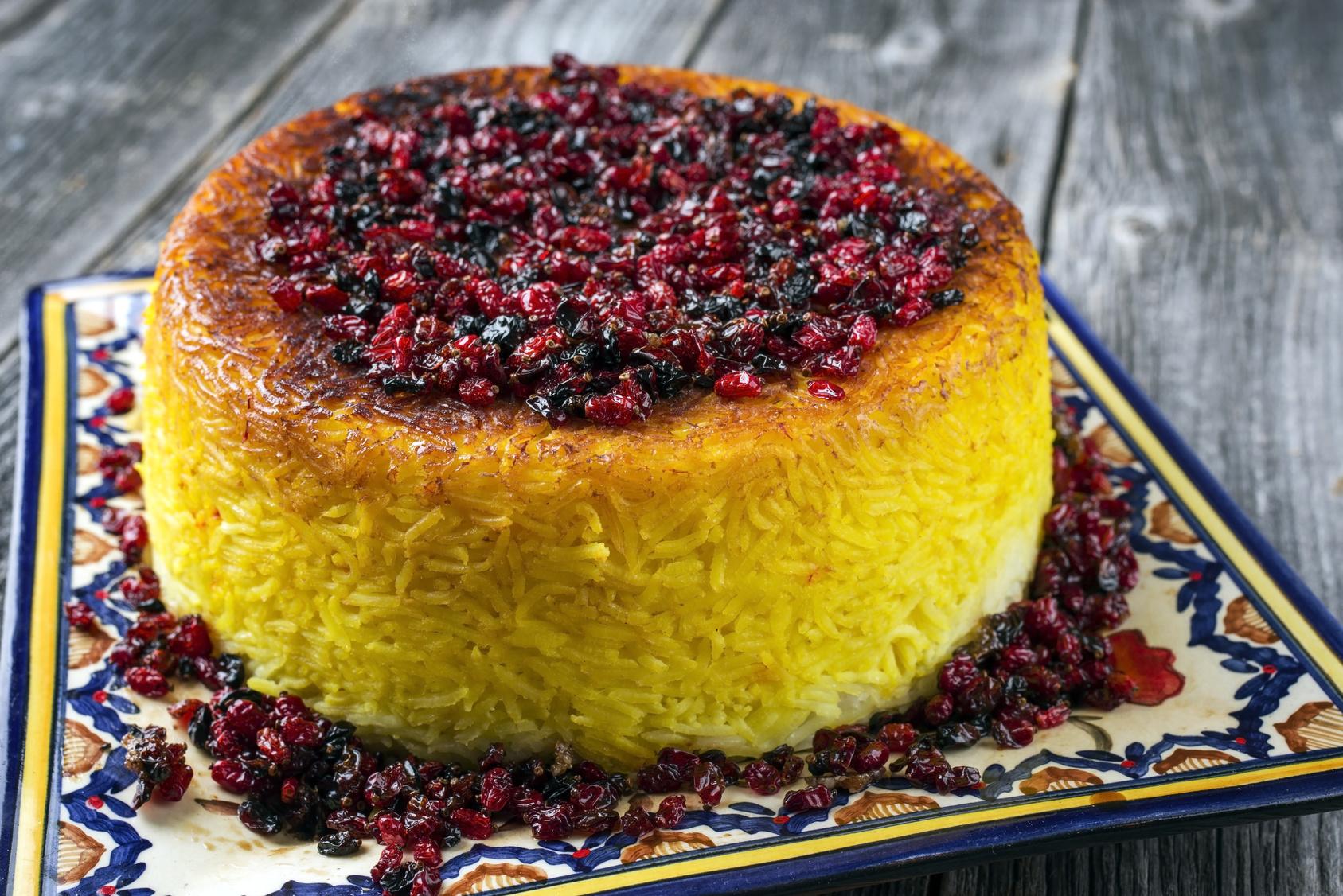 Die persische Basmati Reis Zubereitung