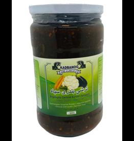 Kadbanoo Eingelegtes Gemüse Bandari Siah 660g
