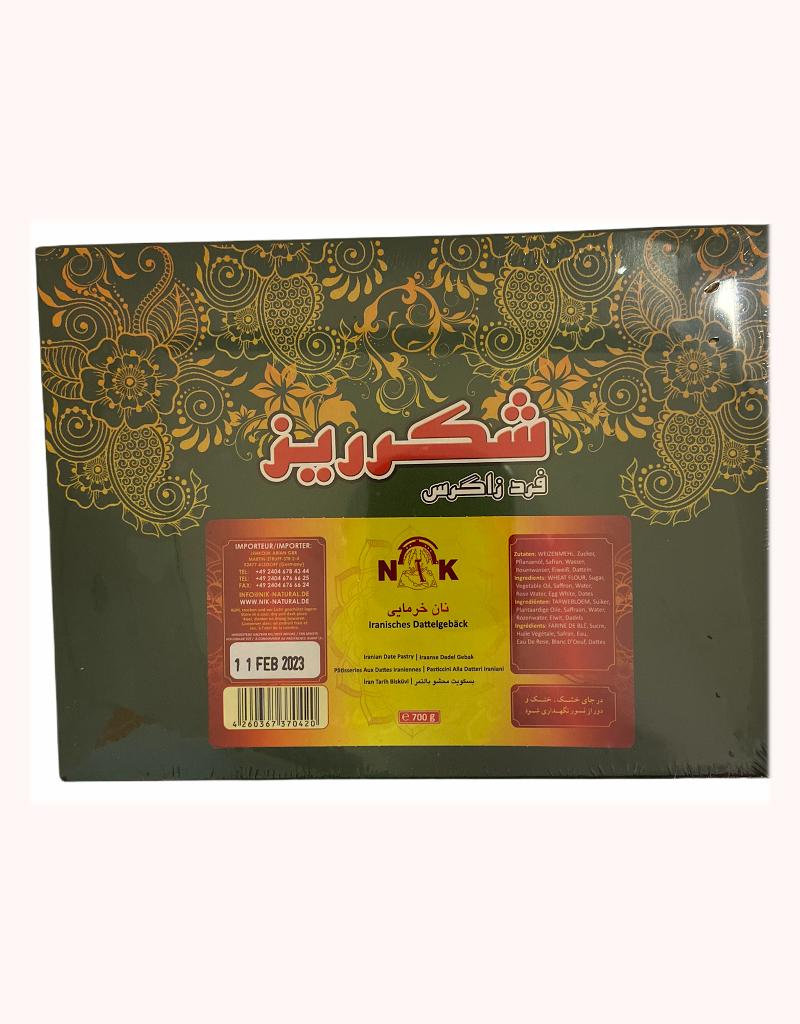 Shekarriz Iranisches Dattelgebäck 700g