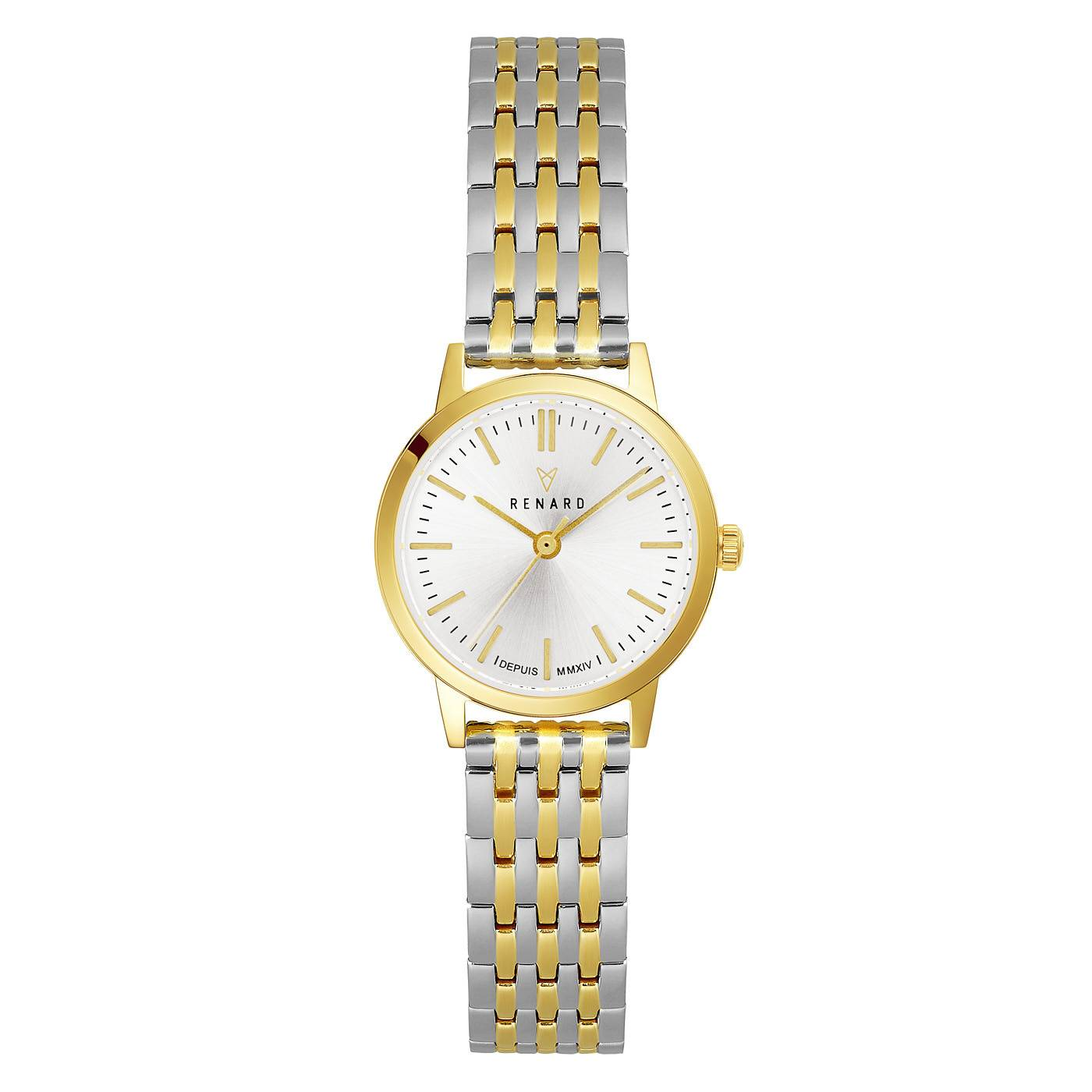 Elite 25.5 ladies watch gold