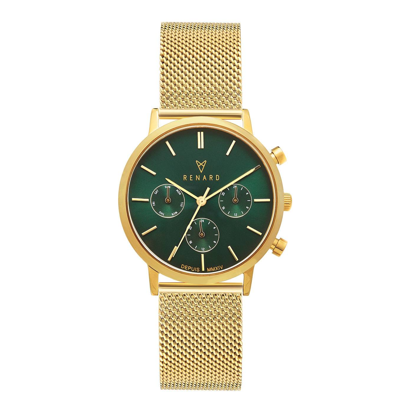Elite 35.5 ladies watch gold