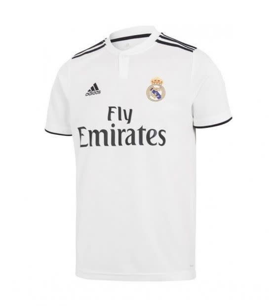 new style 22b1e e0302 ADIDAS Real Madrid Home Jersey Kids
