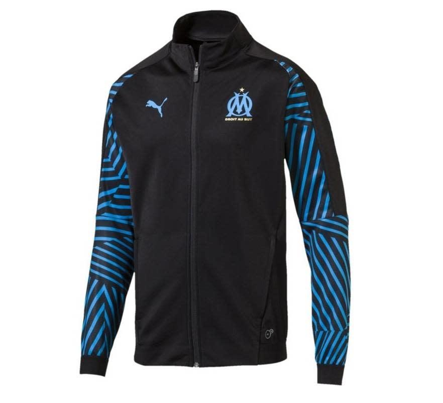 Puma PUMA Olympique Marseille Jacket zwart