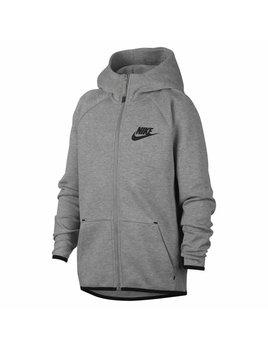 Nike JR Tech Fleece Hoodie grijs