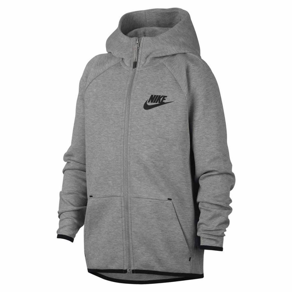 Nike NIKE JR Tech Fleece Hoodie grijs
