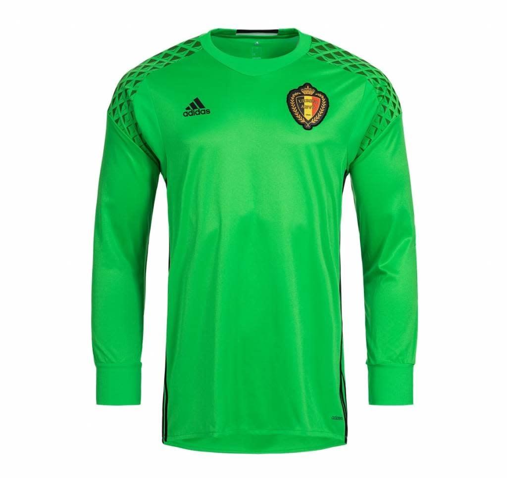 Adidas ADIDAS Belgium Goalkeeper Jersey EK