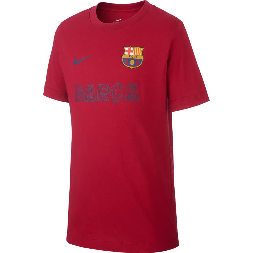 Nike NIKE JR Barcelona Cotton Jersey