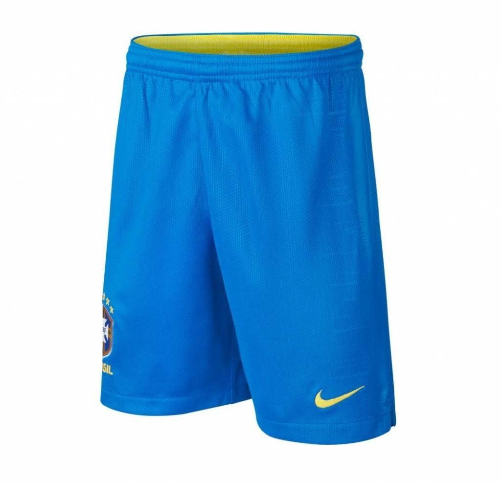 Nike NIKE JR Brazilië Home Short WK