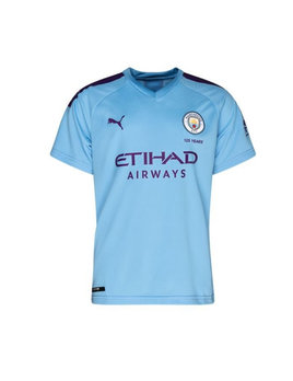 Puma JR Man City Home Jersey