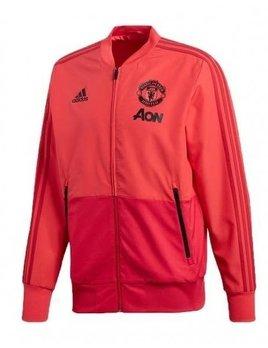 Adidas Man Utd Presentation Suit zwart/rood
