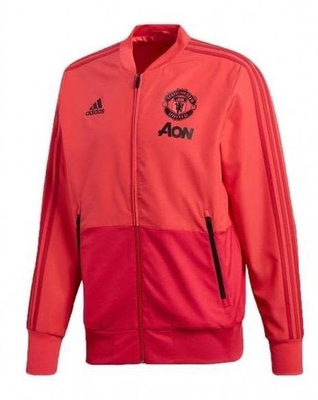 Adidas Manchester Utd Presentation Suit zwart/rood