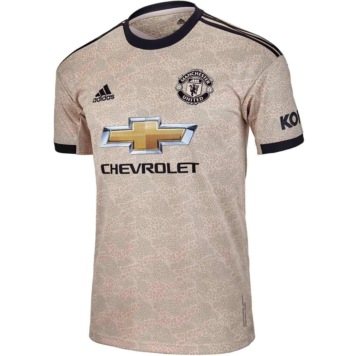 Adidas ADIDAS Manchester United Away Jersey '19-'20