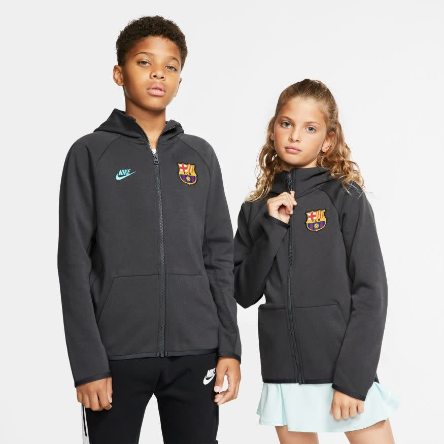 Nike NIKE JR Barcelona Tech Fleece Hoodie