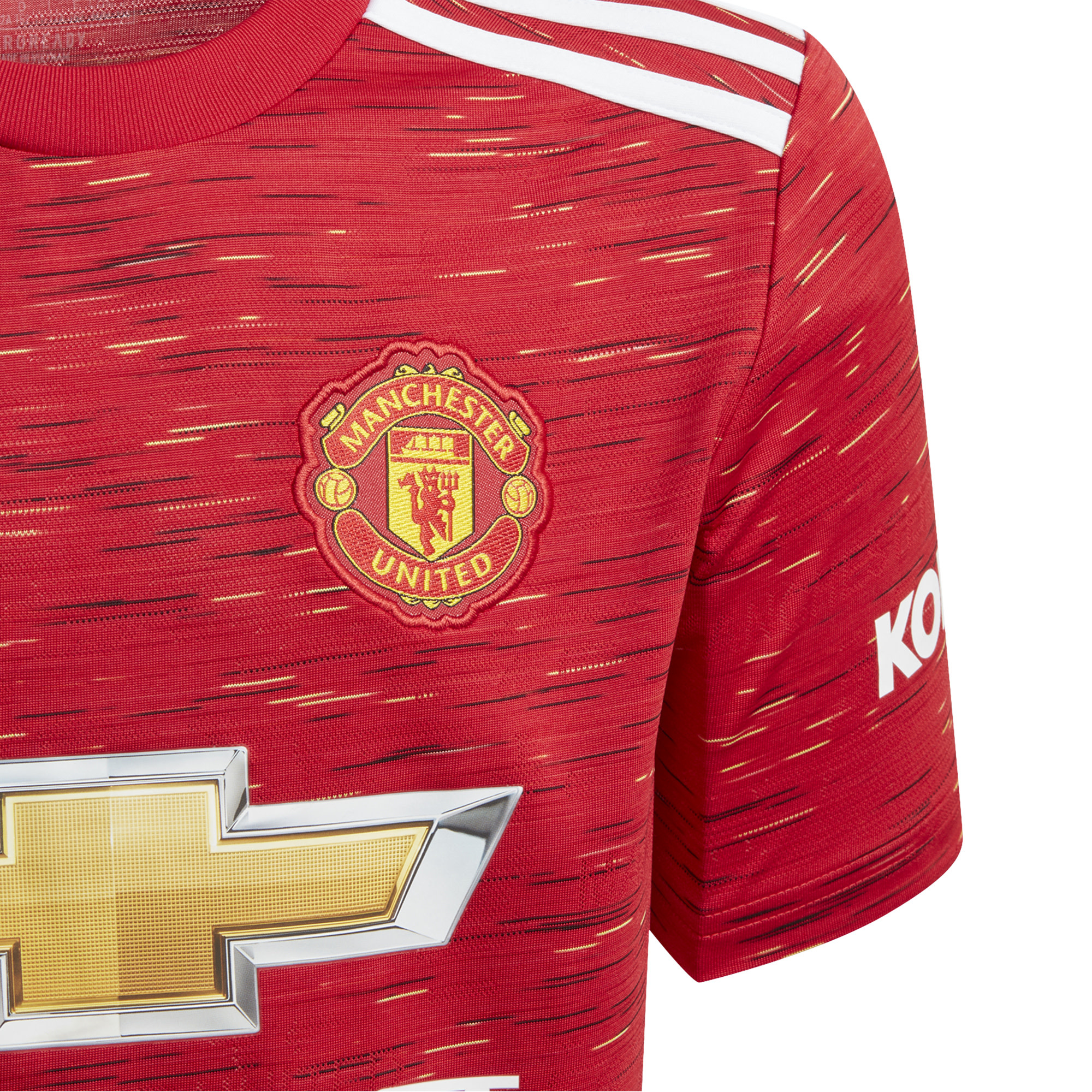 Adidas ADIDAS JR Manchester United Home Jersey '20-'21