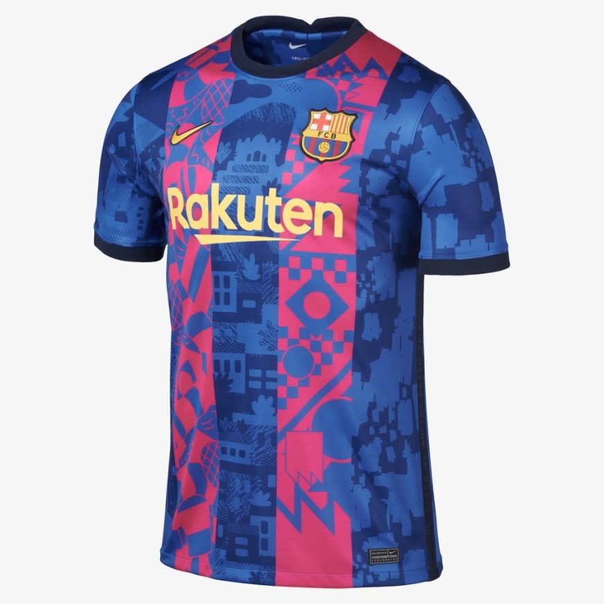 Nike Barcelona 3rd Jersey