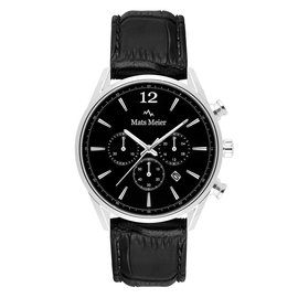 Mats Meier Grand Cornier chronograph mens watch black / black