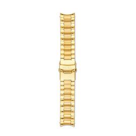 Mats Meier Stalen horlogeband 22mm goudkleurig