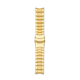 Mats Meier Uhrenarmband Edelstahl 22mm goldfarben