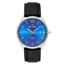 Mats Meier Castor watch blue/black