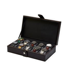 Mats Meier Mont Fort watchbox brown - 10 watches