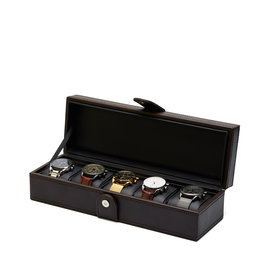 Mats Meier Mont Fort watchbox brown - 5 watches