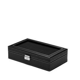 Mats Meier Mont Fort Uhrenbox schwarz - 12 Uhren