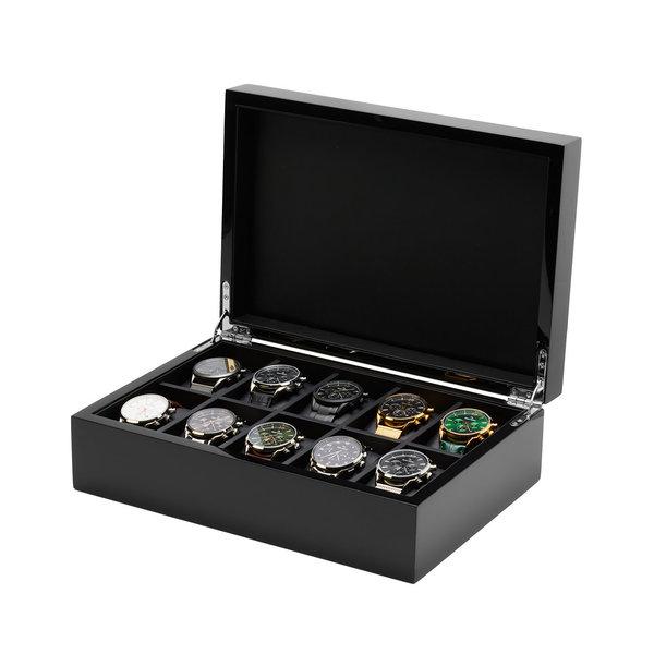 Mats Meier Mont Fort watchbox black - 10 watches