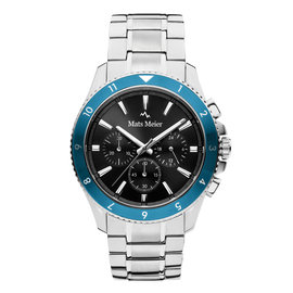 Mats Meier Ponte Dei Salti Mens Watch Silver / Black