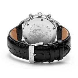 Mats Meier Grand Cornier chronograaf herenhorloge zwart / zwart