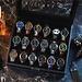 Mats Meier Mont Fort porta orologi nero - 18 orologi