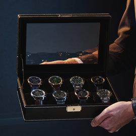 Mats Meier Mont Fort boîte à montres noir - 8 montres