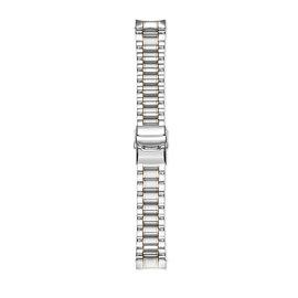 Mats Meier Bracelet montre acier 22 mm couleur argent