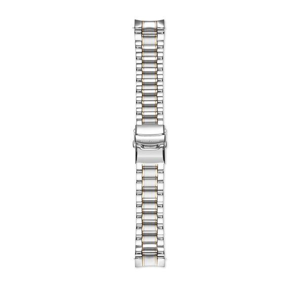 Mats Meier Ponte Dei Salti stalen horlogeband 22mm zilverkleurig