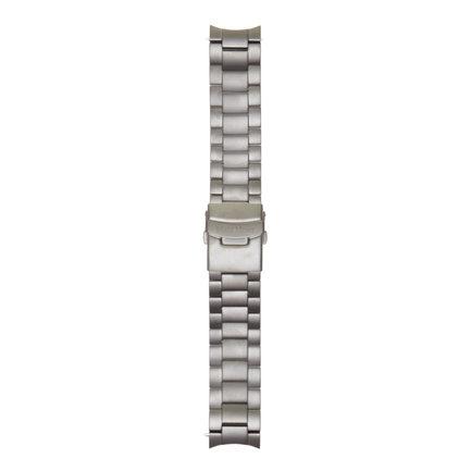 Mats Meier Grand Cornier stalen horlogeband 22 mm grijs