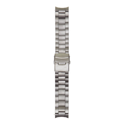 Mats Meier Grand Cornier steel watch strap 22 mm grey