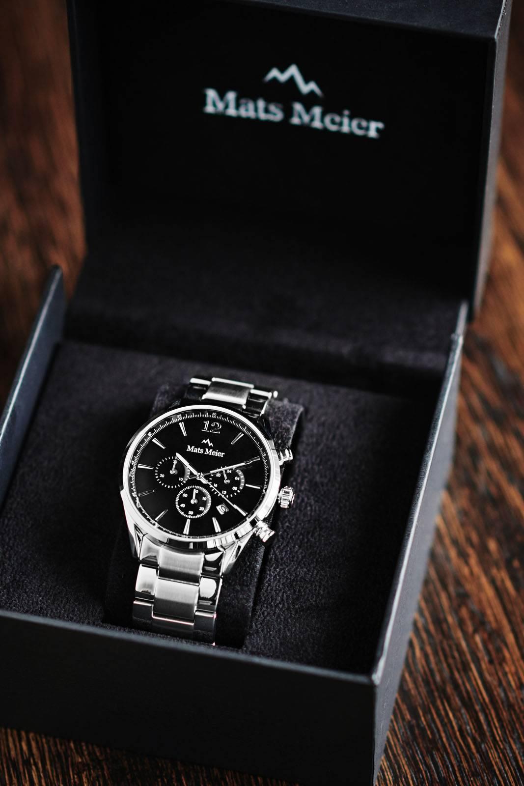 Mats Meier herenhorloges van topkwaliteit - Conquer Yourself