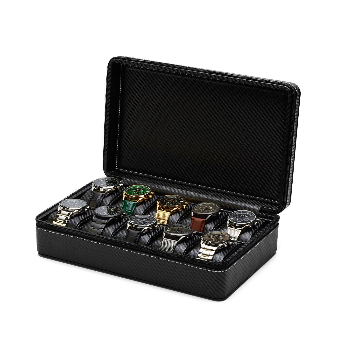 Mont Fort Watchbox - 10 watches