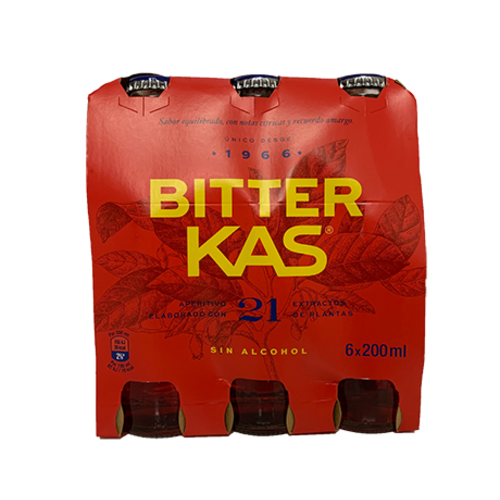 Bitter Kas Bitter KAS ohne Alcohol 6x200ml