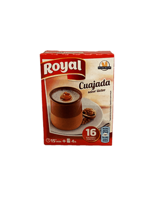 "Royal Royal Pulver für Milchdessert ""Cuajada"""