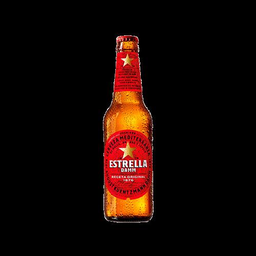 Damm Bier Estrella Damm 330ml