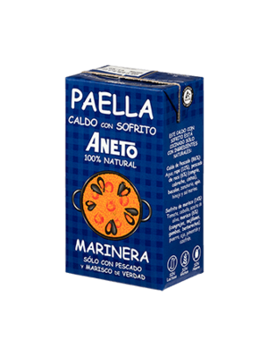 Aneto Aneto Fischfonds für Paella 100% natürlich 1l
