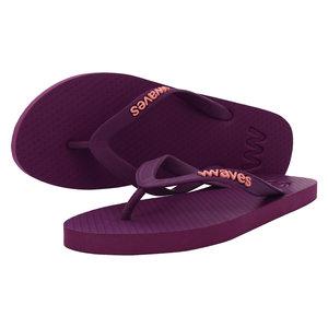 Teen slippers paars  duurzaam vegan rubber