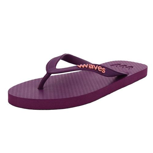 Teen slippers paars