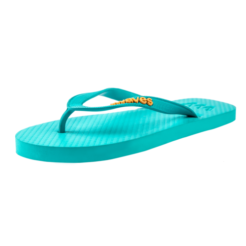 Teen slippers turquoise