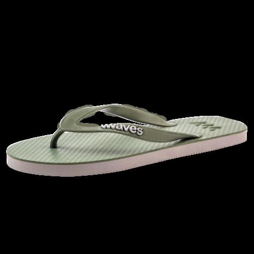 Teen slippers army - grijs khaki