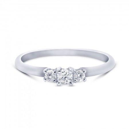 MissSpring Miss Spring Ring MSR586 witgoud met 3x briljant 0.14ct PW