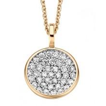 Moondrops Moondrops Collier 14k geelgoud met 0.43ct diamant M002P43YW14