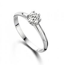 Mrs.Janssen MRS.Janssen Ring 14k witgoud met diamant 0.45crt G/Si 601228