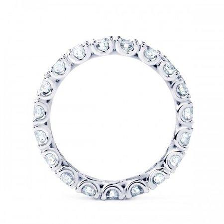 R&C R&C Ring Lovely 14k Witgoud met 0.69ct P/W diamant RIN5003-23-PW-W