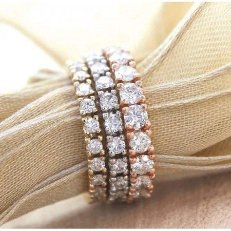 R&C R&C Ring Lovely 14k Witgoud met 2.00ct P/W diamant RIN5010-22-PW-W